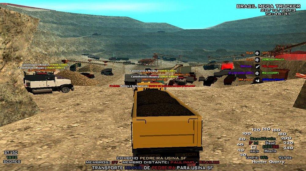 Comboios do Brasil Mega Trucker / Convoy Brasil Mega Trucker