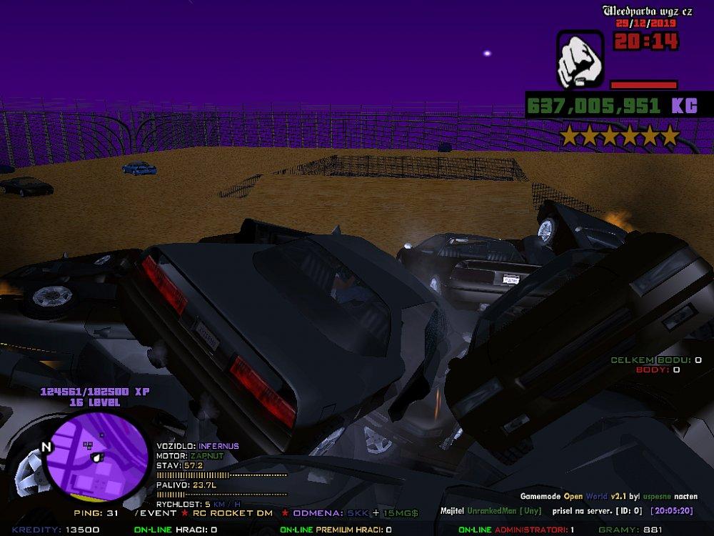 Příprava Car Rocket DM xD