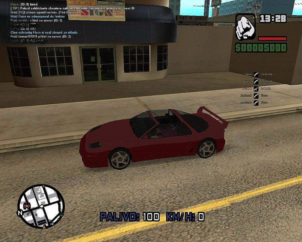 GTA SAMP Auto