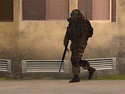 Ruský vojak v mojom GTA ???