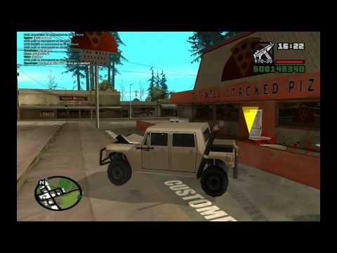 GTA SAN ANDREAS - Multiplayer (CZ) Zikmund and Killerax LP