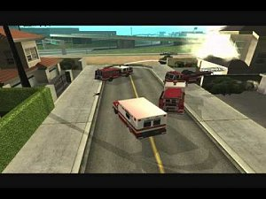 EMERGENCY San Andreas 3 Právník v plamenech Movie HOLMESOV TV