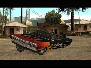 GTA SA Ukázka jak neumím řídit a driftovat [FILM]
