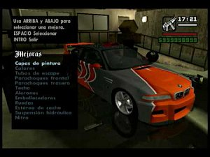 GTA San Andreas - Tuning Cars Mod (part 1)