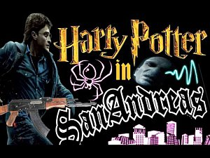Harry Potter in San Andreas (HOLMESOV TV)