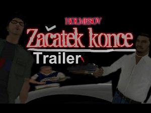 Začátek Konce GTA Movie Trailer (HOLMESOV GAME)